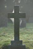 Туманные могилы стоковое фото