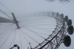 Туманный день в Лондоне Стоковое Фото