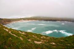 Туманный день на море Стоковые Изображения RF