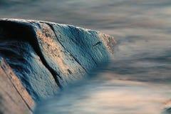 туманный камень океана Стоковые Фото