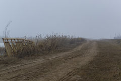 Туманный обваловка Стоковое фото RF