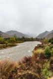 Туманный поток горы Стоковое фото RF
