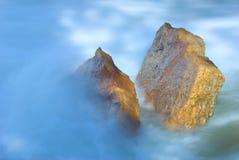 туманный поток стоковая фотография rf
