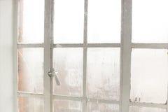 Туманный угол 2_United Kingdom_January 2018 окна стоковое изображение