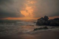 Туманы Чёрного моря Стоковые Фотографии RF