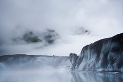 туман айсберга ледника Стоковые Фото