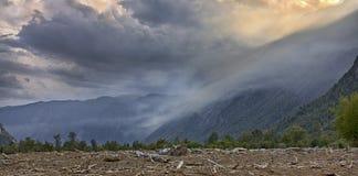 Туман вечера Стоковое Фото