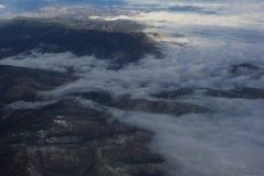 Туман в горах Стоковые Изображения