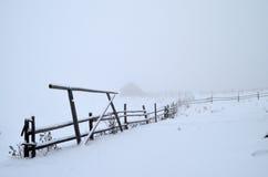 Туман в горах Стоковое Изображение