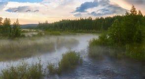 Туман в amunahta Стоковое Фото