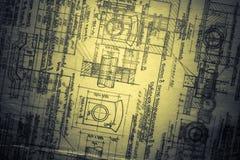 туман инженерства Стоковая Фотография