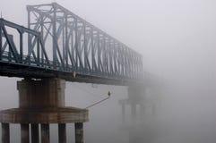 туман моста Стоковая Фотография RF