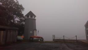 туман над водой стоковые фото