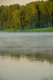 Туман над водой Стоковые Фотографии RF