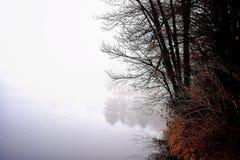 Туман озера Глена Стоковые Фотографии RF