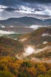 Туман приходит внутри Стоковые Изображения