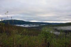 Туман утра в appalacians Стоковое Изображение RF