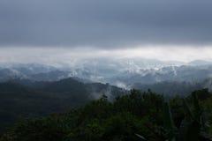 Туман утра на ем Стоковое Изображение RF