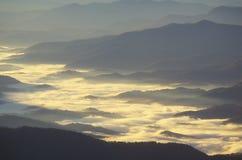 Туман утра Стоковое фото RF
