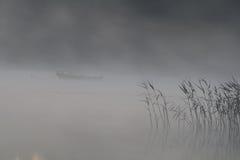 туман шлюпки Стоковая Фотография RF