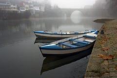 туман шлюпок Стоковое фото RF