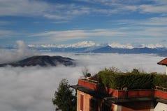 туман alps Стоковые Фото