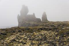 Туман Londrangar стоковые фото