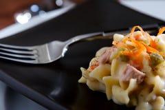 туна лапши 2 casserole Стоковое Фото