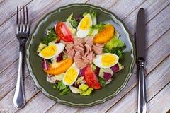 туна переднего салата фокуса селективная Стоковое Фото
