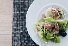 туна переднего салата фокуса селективная Стоковые Фото