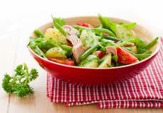 туна салата картошки стоковая фотография rf