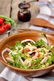 туна салата макаронных изделия стоковая фотография