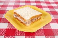 туна сандвича рыб Стоковое Фото