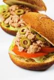 туна сандвича Стоковые Фотографии RF