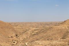 Тунисские холмы Стоковое Изображение