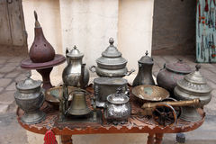 Тунисский антикварный магазин стоковые изображения