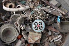 Тунисский антикварный магазин стоковое фото