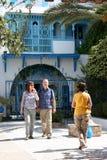 Тунисский двор Стоковое Фото