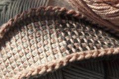 Тунисское вязание крючком Стоковая Фотография RF