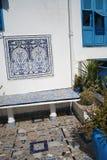 Тунисское Terrasse Стоковая Фотография RF