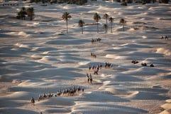 Тунис 2007, пустыня Сахара Стоковая Фотография