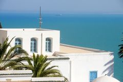 Тунис. Sidi Bou сказало Стоковое Изображение