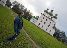 тупоумный турист Стоковое Изображение RF