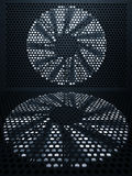 турбина вентилятора предпосылки Стоковая Фотография RF