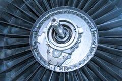 Турбина вентилятора реактивного двигателя Стоковые Изображения