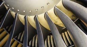 Турбина двигателя Стоковое Изображение