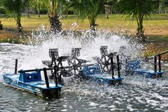 Турбина воды Стоковое фото RF