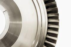 турбина двигателя лезвий стоковое фото rf