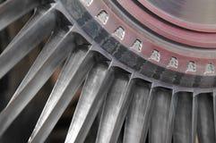турбина лезвий Стоковая Фотография