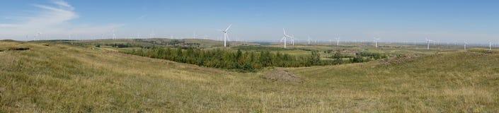 Турбина энергии ветра Стоковое Изображение RF